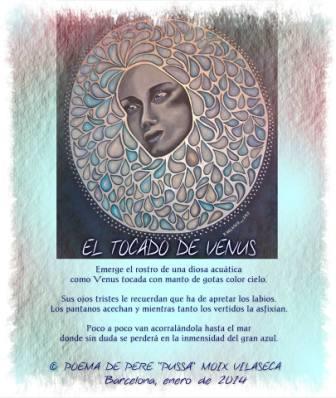 """""""Lunática"""", próxima exposición de Nuria Velasco. El Tocado de Venus de Nuria Velasco  Poema de Pere Moix Vilaseca"""