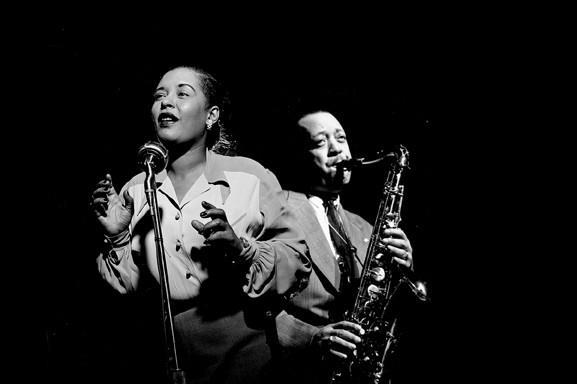 "Lady Day. Billie Holiday y Lester Young, ""Prez"""
