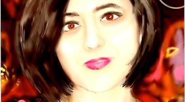 María José Domínguez García by Rosa Prat