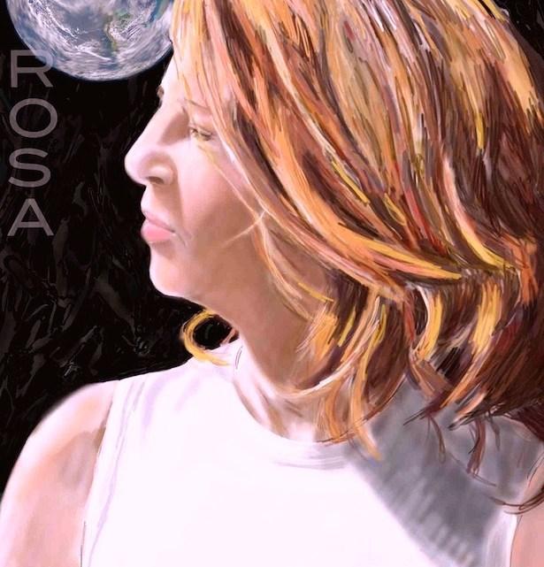 Luna de Cosecha. Rosa Prat y Moon by Rosa Prat