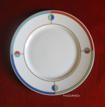 Gabriele Nuzzarello. Vajilla cerámica policromada