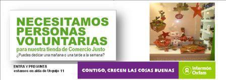 Intermón Oxfam. Entrevista Comercio Justo