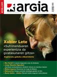 Obra poética. Portada Revista Argia.