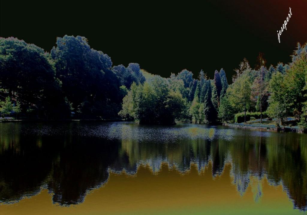 José Portela. Fotografía. Lago Fantasía
