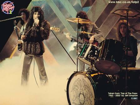 Queen II. En Top of the Pops.