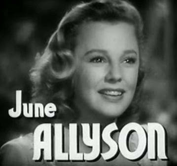 Voces en la sombra. June Allyson