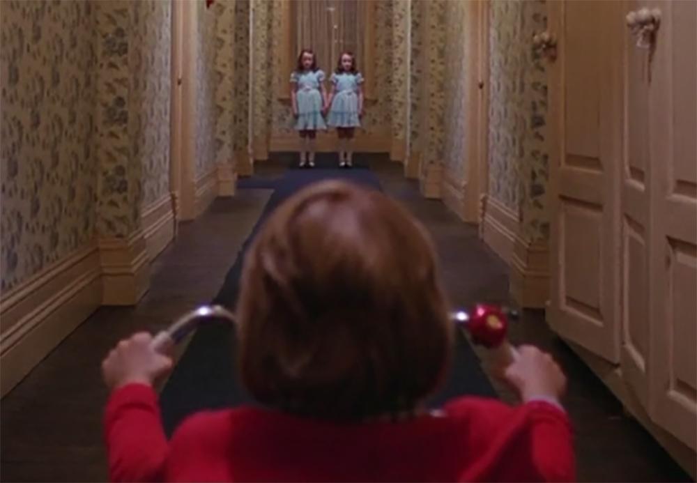 El Resplandor. Treinta y cinco años de la película de Kubrick. Danny y las gemelas.