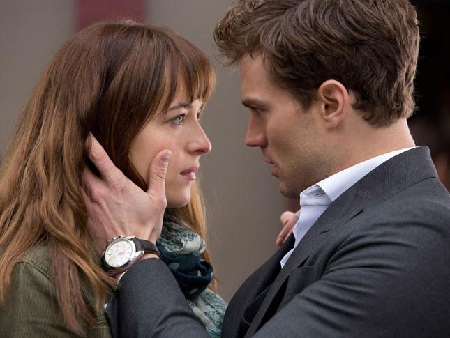 Cincuenta sombras de Grey. Anastasia y Grey.