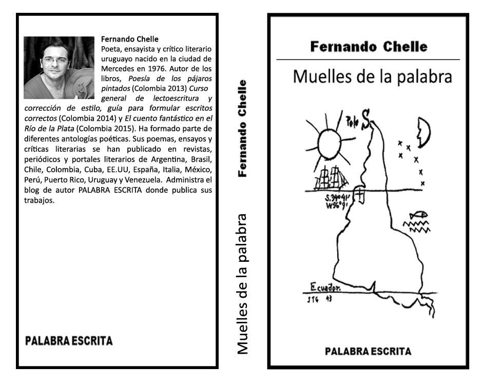 Muelles de la palabra. Poemario de Fernando Chelle.