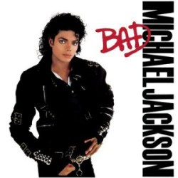 "Portada del álbum ""Bad"" de Michael Jackson"