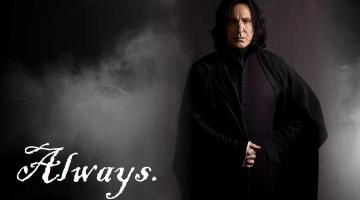 Réquiem por Alan Rickman. Always Severus Snape 1