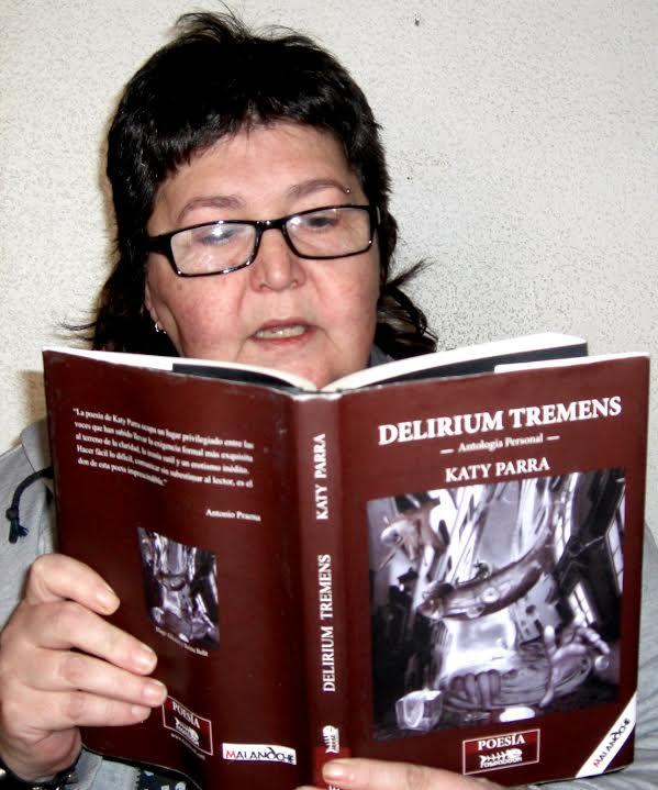 """""""Delirium Tremens"""" de Katy Parra. Vida en estado puro. Reseña de Amaia Villa."""