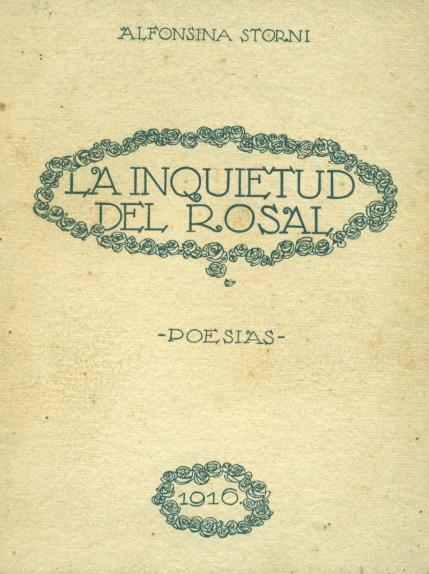 Alfonsina Storni. Un siglo de inquietud. Artículo de Rafael Indi