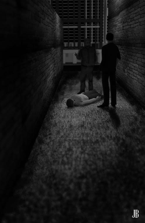 La chica de Greenwich Village. Un caso de Lee Johnson. Segunda entrega de los casos del detective Lee Johnson. Relato de David de la Torre. Portada y diseños de Josevi Blender.