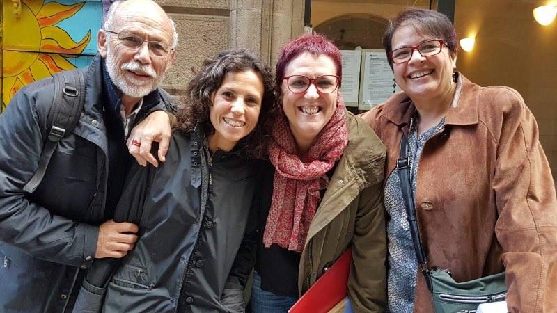 Miquel Llobera, Maribel Gutiérrez, Anna María Villalonga y Maria Josep Morgado.