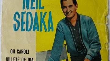 Nueva sección El tocadiscos. Hoy, Neil Sedaka con su inolvidable «Oh! Carol» 1