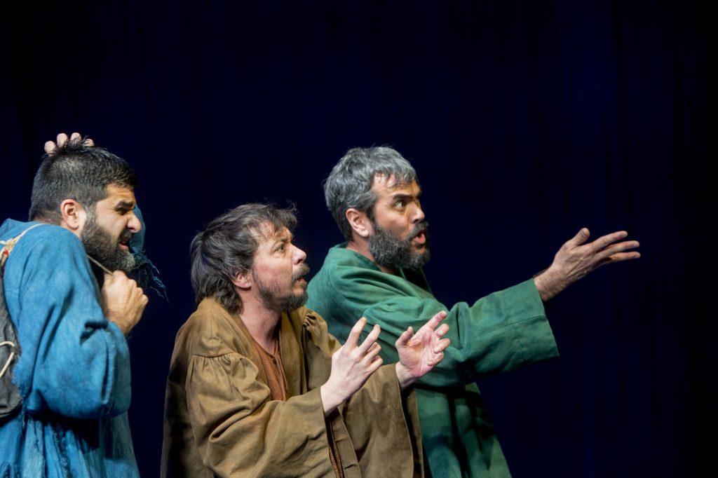 Javier Lara, Juan Antonio Lumbreras y Paco Déniz