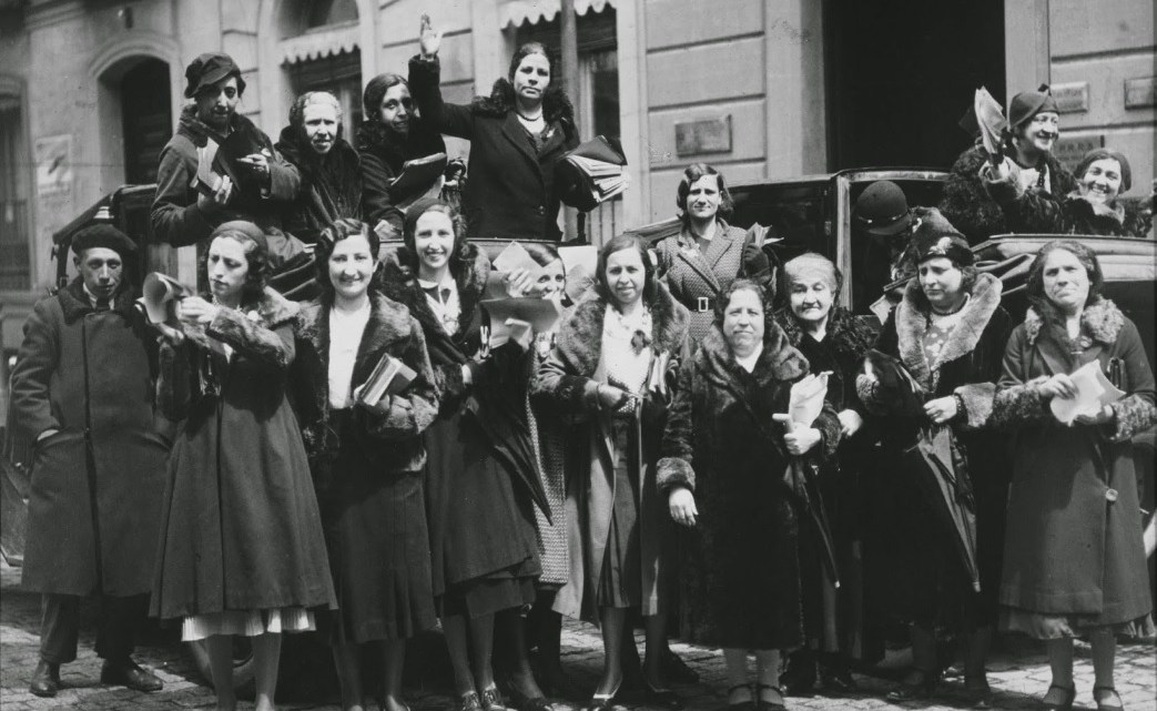 La conquista del sufragio femenino: El derecho de las faldas