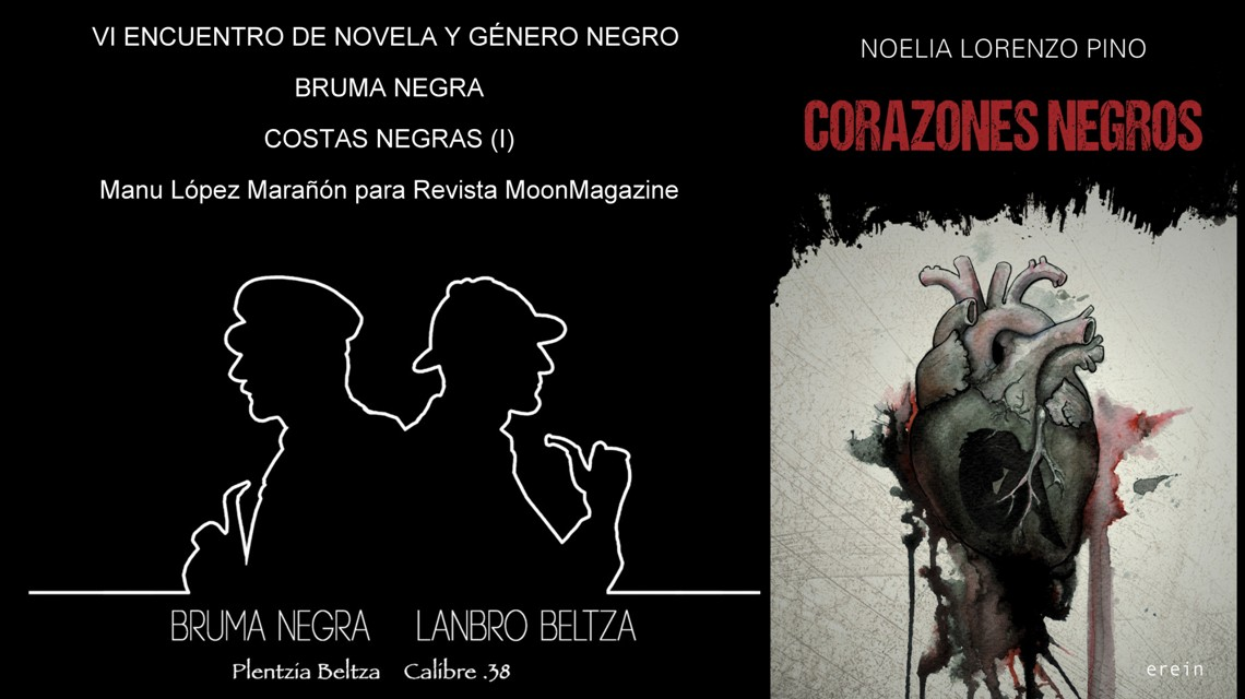 Corazones negros, de Noelia Lorenzo Pino. Erein (2018)