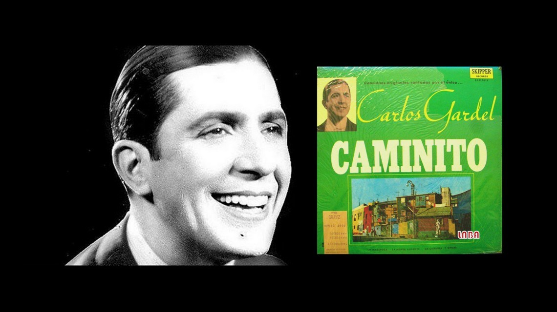 Hoy, en El Tocadiscos, y en el 83 aniversario de su muerte física, Caminito, de Carlos Gardel.