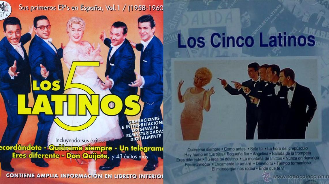 Hoy En El Tocadiscos Quiéreme Siempre De Los Cinco Latinos