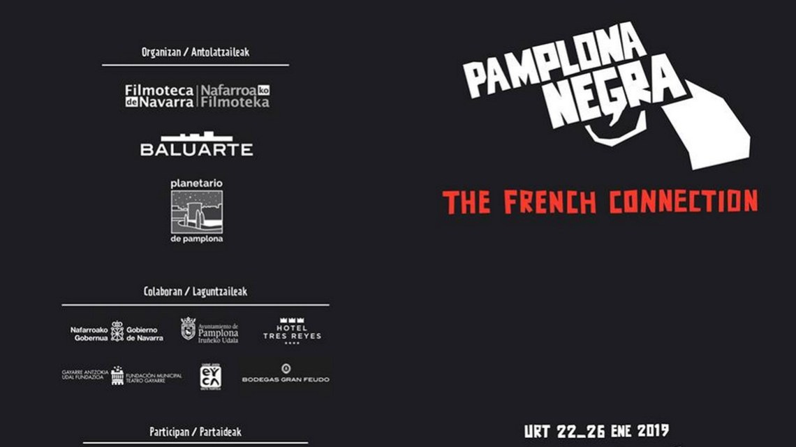 Pamplona Negra: Quinta edición bajo el lema The French Connection