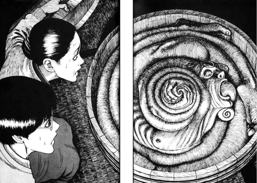 Uzumaki: Espiral, de Junji Ito, el manga como catarsis de la pesadilla 4