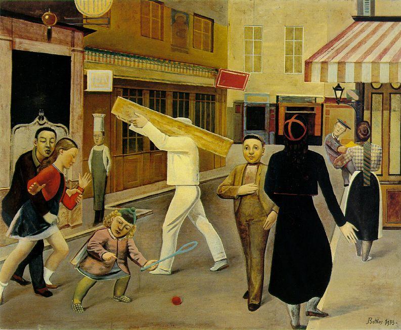 La calle, Balthus