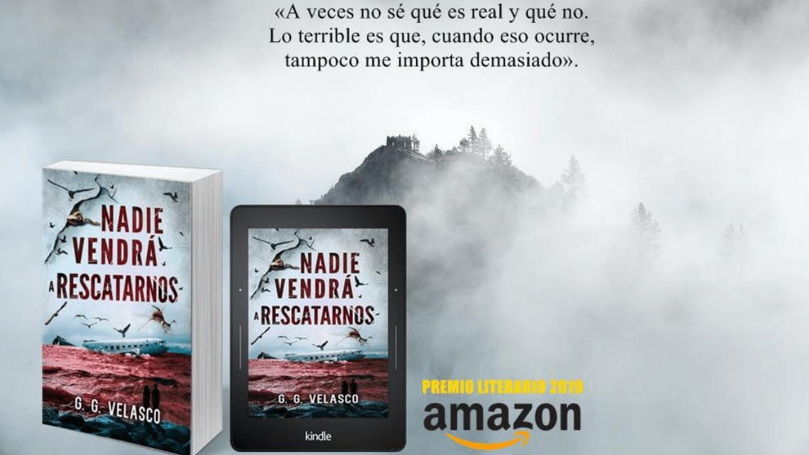 6 razones por las que Nadie vendrá a rescatarnos debería ser finalista al Premio Literario Amazon 2019