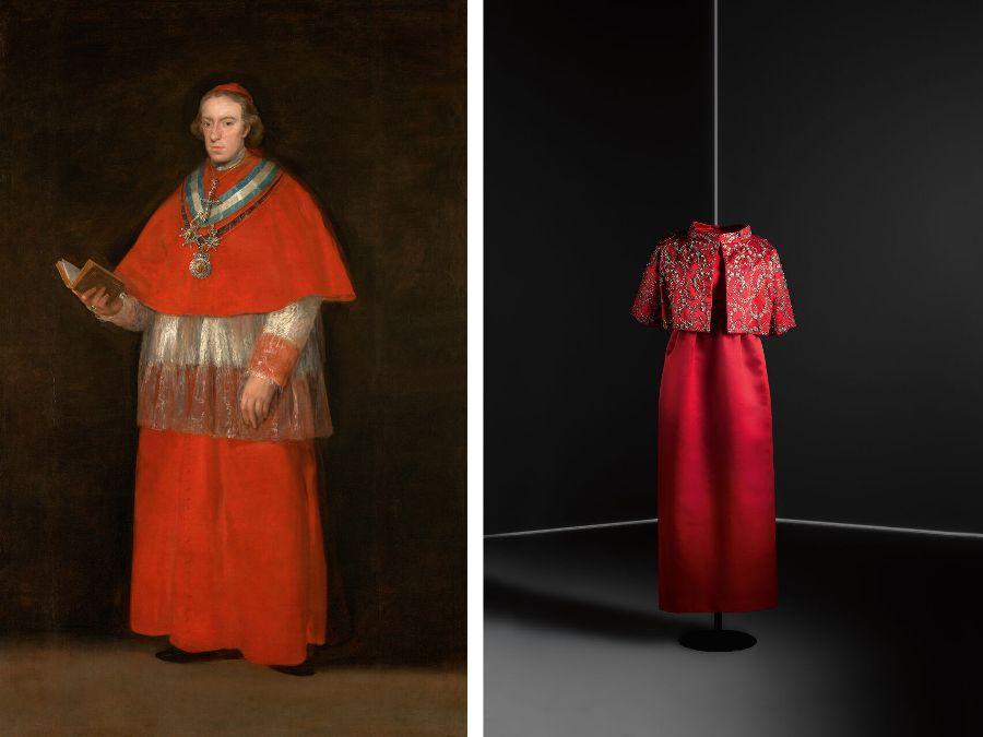 Exposición Balenciaga y la pintura española: moda y creación pictórica