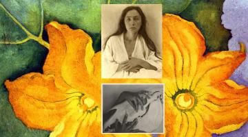 Georgia O'Keeffe: el poder simbólico y lo conceptual como propuesta personal