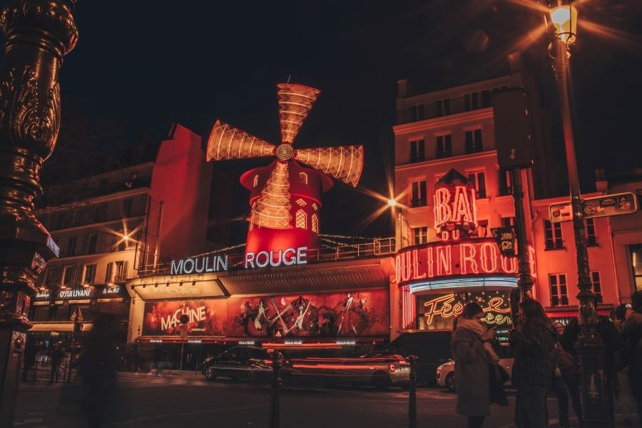 París. Moulin Rouge