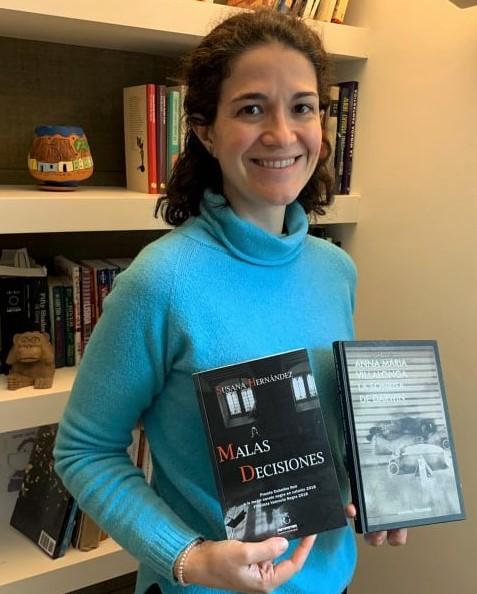 Carolina Borrajo Villaverde, ganadora del premio
