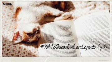 Lecturas en confinamiento. Quédate en casa leyendo: te acompañamos