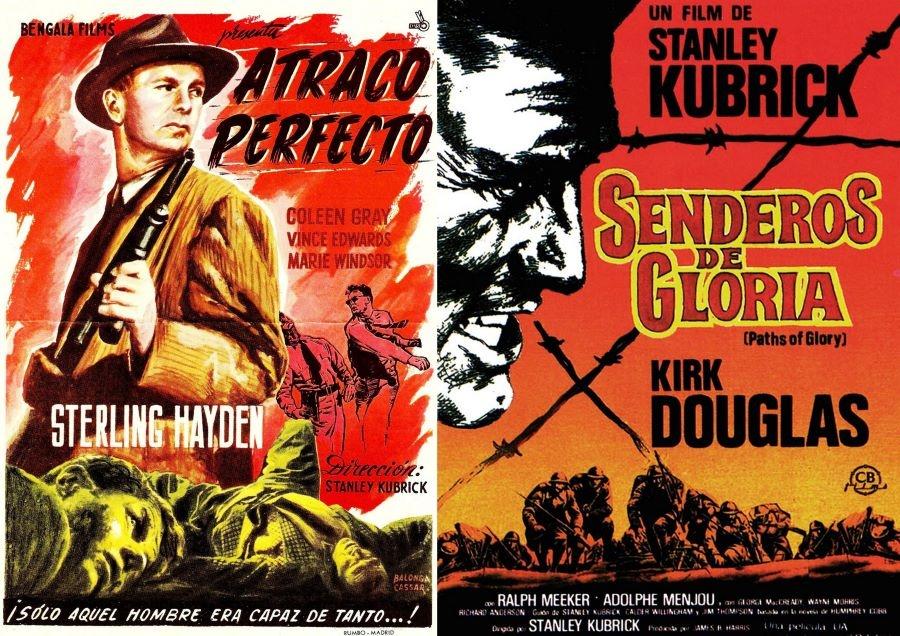 Stanley Kubrick Atraco perfecto Senderos de gloria