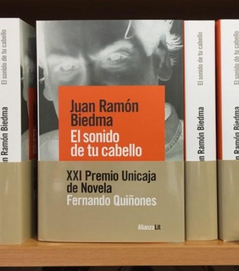 Entrevista a Juan Ramón Biedma y sorteo de un ejemplar de El sonido de tu cabello