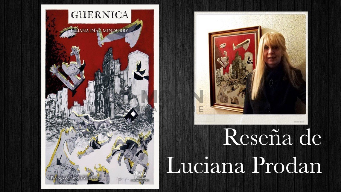 Pinceladas de dolor, a propósito de Guernica de Liliana Díaz Mindurry