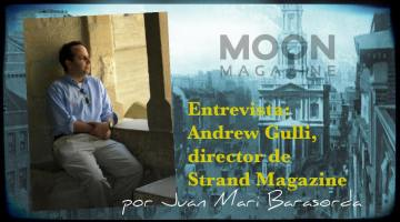 Andrew Gulli, director de Strand Magazine. En busca del tesoro literario 1