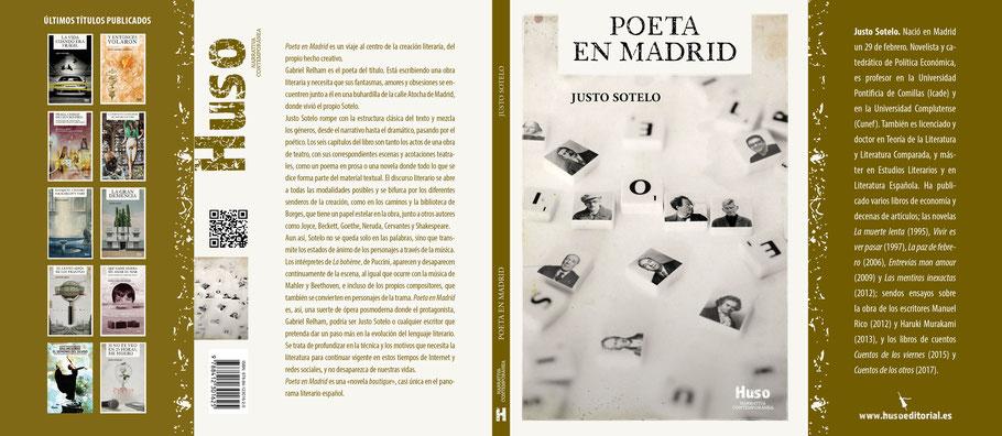 Justo Sotelo, un Poeta en Madrid (Huso, 2021)