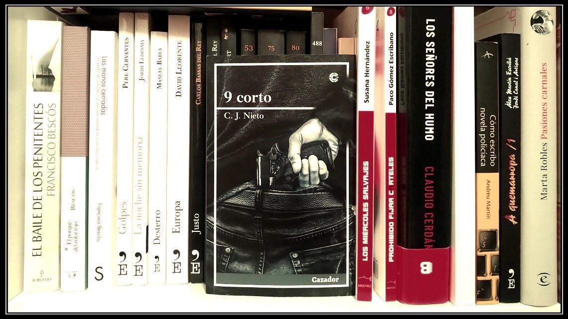 9 Corto, de C.J. Nieto: pequeño diamante negro pulido a ráfagas de nueve balas 1