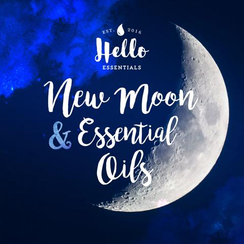 The New Moon + Essential Oils