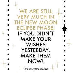 The New Moon Eclipse Phase