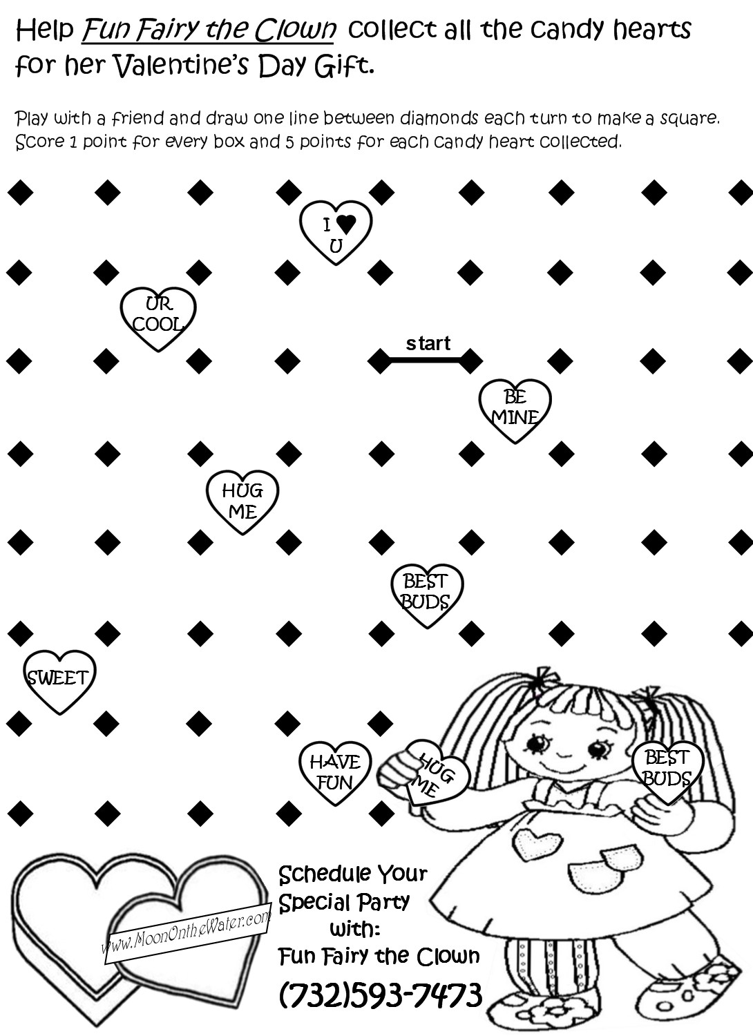 Fun Fairy S Valetine S Day Activity Sheet