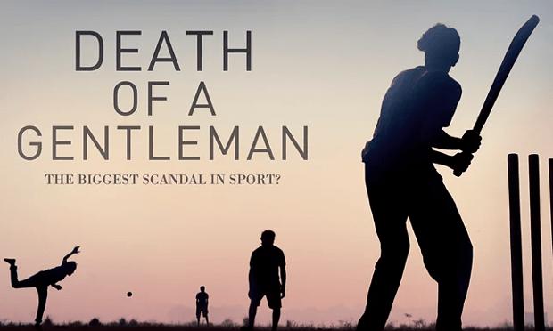 death of a gentleman cricket