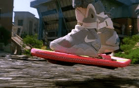BTTF hover board