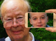 Face Child Youth Old Man Boy Age Smartphone