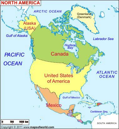 north america honeymoon regions
