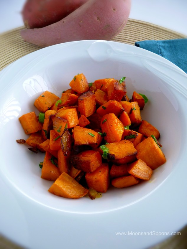 Sweet Potato Hashed Browns