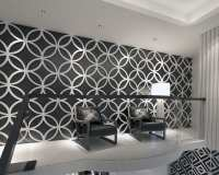 3D Wall Panels Geometric Stars - Moonwallstickers.com