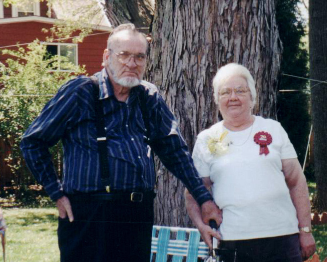 Grandma and Grandpa Wayne